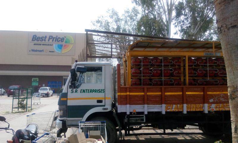 LCV Services for CNG Transportation