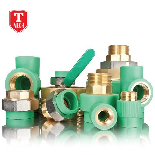 Brass Insert Ppr Pipe Fitting Uae (TMP2020)