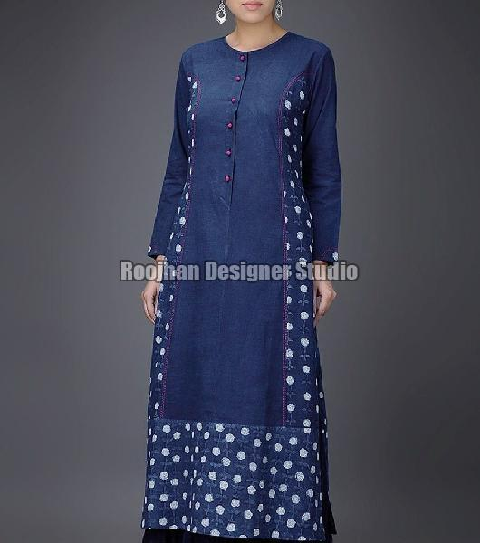 afc6deb8b5 Cotton Kurtis Manufacturer in Chandigarh Chandigarh India by Roojhan ...