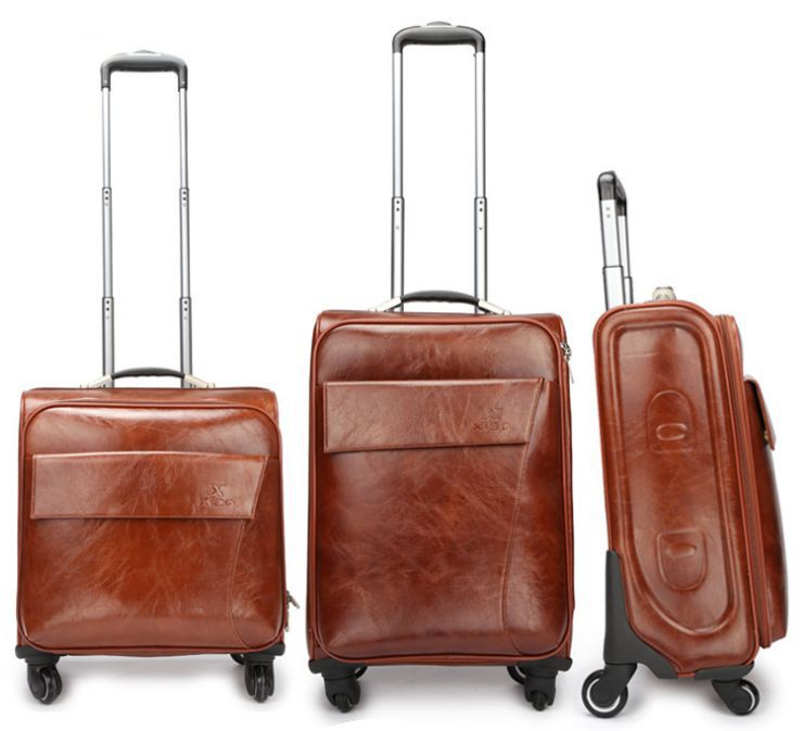 Buy Leather Luggage Bags from Manacle Networks India Private Limited ... 1f065a174adeb