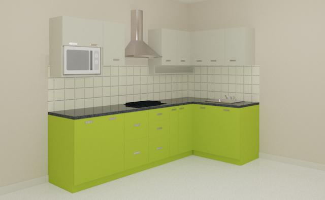 l shaped modular kitchen Wholesale Suppliers in Chennai