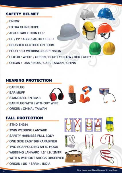Safety Helmets Hard Hats for Worker