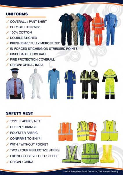 Safety Vest Green Orange Red Bark Blue Whiate