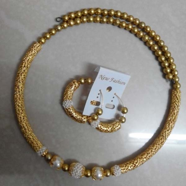 Gold Plated Necklace Set (HGZN)