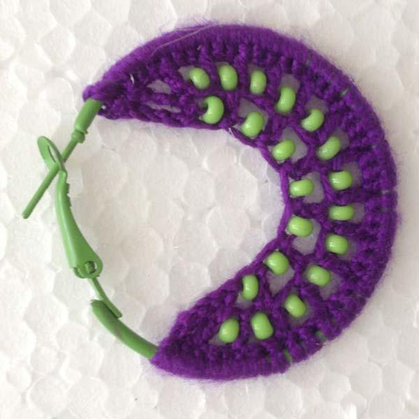 Thread Work Earrings (IKTM)