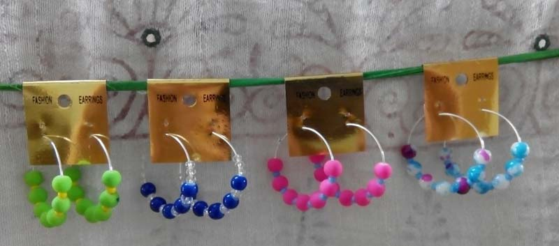 Velvet Beads Earrings (VBBEM)
