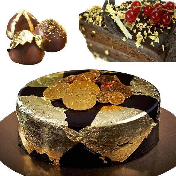 Edible Gold Leaf for Bakery Manufacturer & Exporters from ...