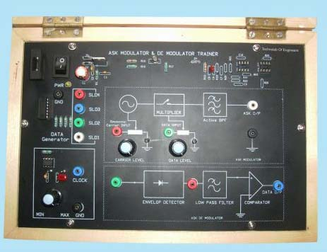 ASK Modulation and Demodulation Trainer Kit Manufacturer in Howrah