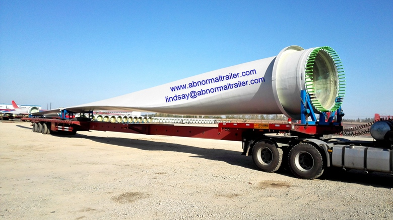 buy wind blade trailer from china abnormal trailer manufacturer