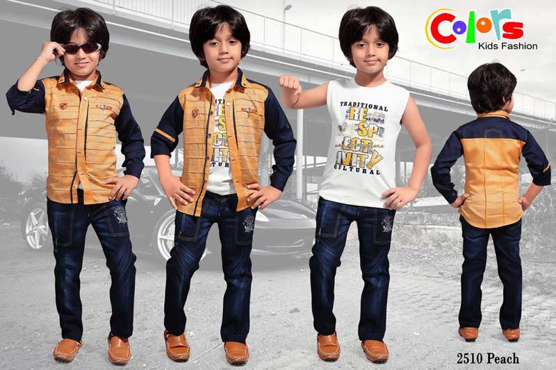 Boys Casual Dresses Manufacturer In Indore Madhya Pradesh India By