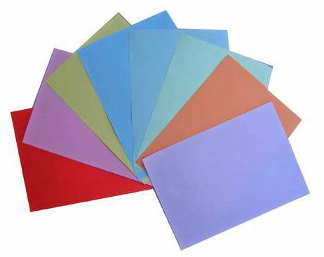 Quality A4 color papers Manufacturer in Thailand by Ketkanok Kongieb ...