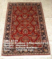 traditional hand knotted wool silk carpets