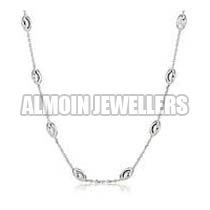 Women Silver Chain Manufacturer In Bharuch Gujarat India By Almoin Jewellers Id 1921136