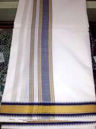 Cotton Puja Dhoti Fabric
