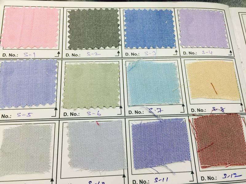 Shamray uniform fabric. (chambray-1)