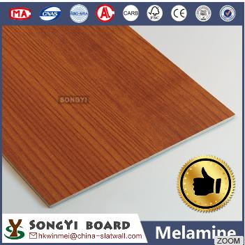 Melamine Faced MDF Decorative Wall Panel/PVC Laminated MDF