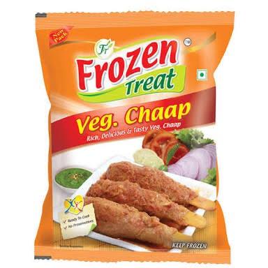 Frozen Vegetarian Chaap