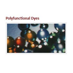Reactive Polyfunctional Dyes