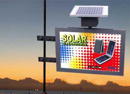 Solar Advertising Light Box (SLB-01-B)