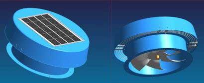 Solar Ventilation Fan (ZHGF-004)