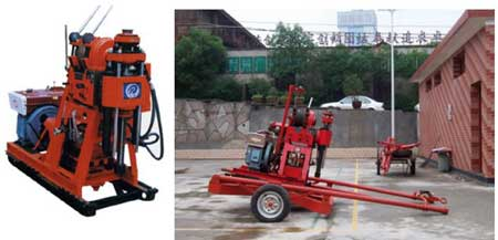 Water Drilling Machine (xdl-100)