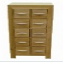 ten drawers chest