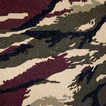 Camouflage Printed Pu Coated Fabric (1102)