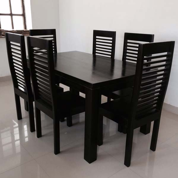 Wooden Dining Table Set Manufacturer In New Delhi