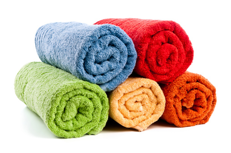 vat dyed towels