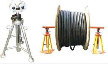 Electric Tools Mechanical Cable Drum Trestle Cable Drum