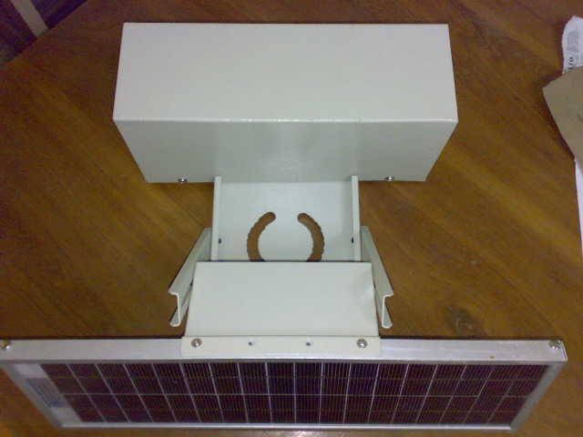 Solar powered LED Aviation Obstruction Light