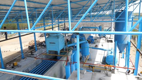 Waste Tyre Pyrolysis Plant Manufacturer in Gujarat India by