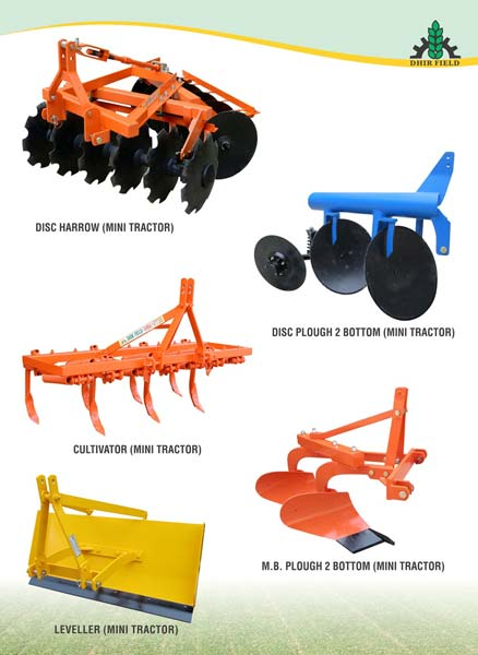 small tractor implements and attachments