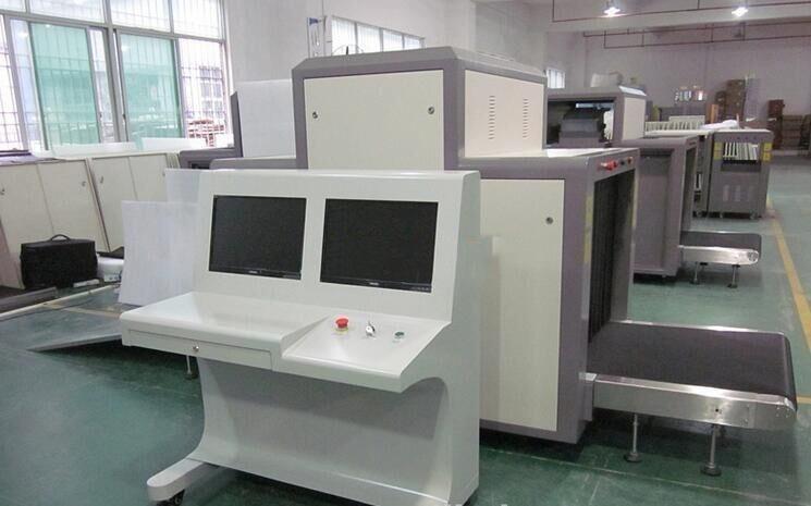 X ray luggage scanner, baggage scanning machine