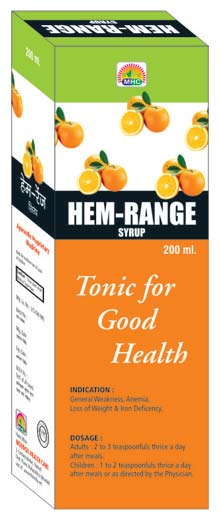 Hem Range Iron Deficiency Syrup (Hem Range Iron Defic)