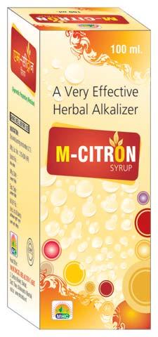 M Citron Dysuria Syrup (M Citron Dysuria Syr)