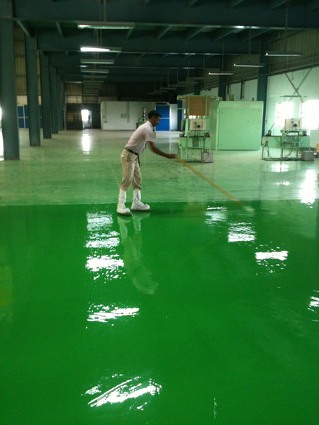 Epoxy Flooring Manufacturer in Haryana India by Rk Flooring Systems
