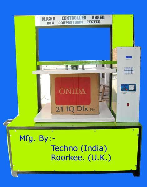 Box Compression Strength Tester (TI-101)