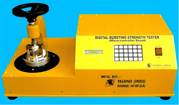Digital Bursting Strength Tester (TI-109)