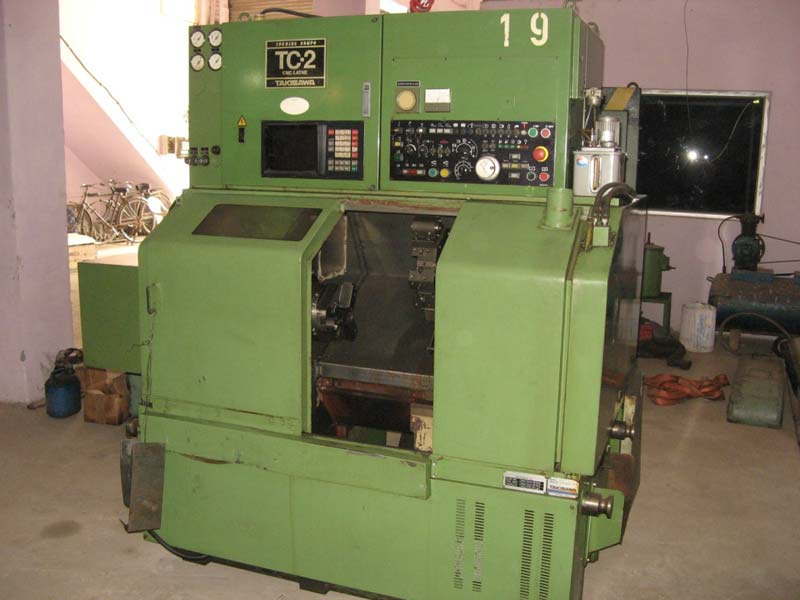 Used Cnc Turning Machine (1525)