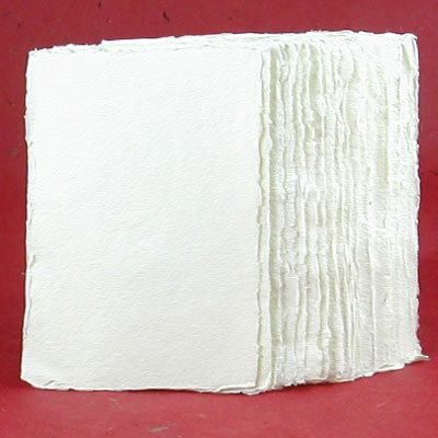 rag paper Fabulous fancy pants offers handmade cotton paper, made from cotton rag with deck led edges perfect for invitations, calligraphy, watercolors, and mixed media.