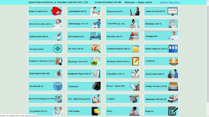 Hospital Management System Manufacturer in Rajasthan India by