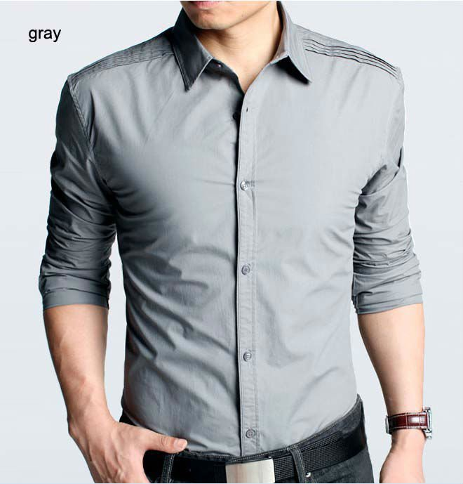 Guy's long sleeve shirts are an absolute must for day or night, going out or going to school. They look fantastic by themselves, under a jacket, or with your cuffs rolled up. Pair a great shirt with your best jeans or chinos and stand out looking great.