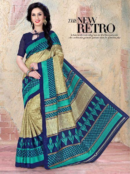 d94ac59993 Bhagalpuri cotton silk sarees Manufacturer in Surat Gujarat India by ...