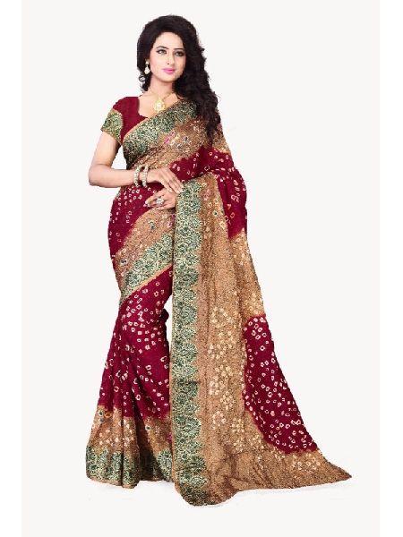 5bb46c5b2f BANDHANI COTTON SAREES Manufacturer in Surat Gujarat India by Akruti ...