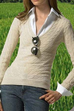 Ladies Pashmina Sweater (KCPSW001)