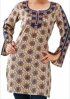 Cotton Printed Kurtis (Cotton Printed)