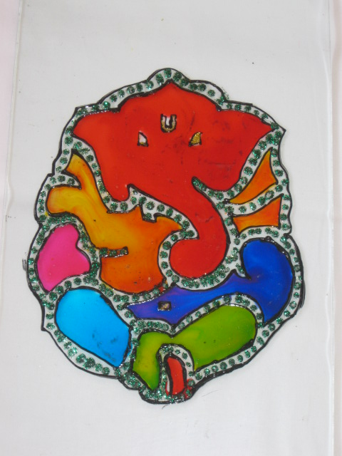 Glass Painting 3 (Glass painting)