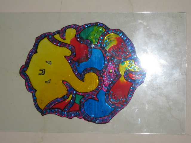 Glass Painting 6 (Glass painting)