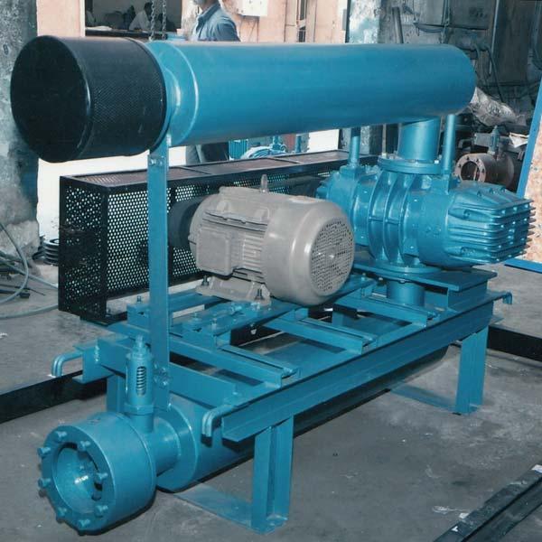 twin lobe rotary compressor